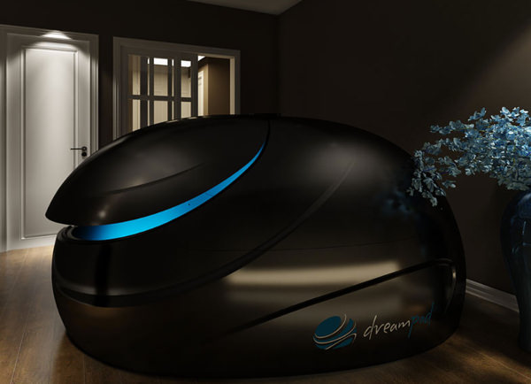 Dreamed stealth floatation tank