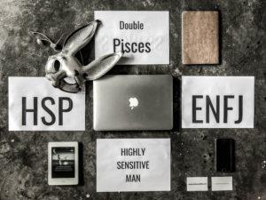 ENFJ HSP Double pisces highly sensitive male Hs white rabbit
