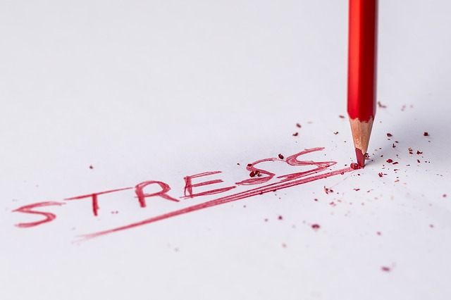 Stress pencil work